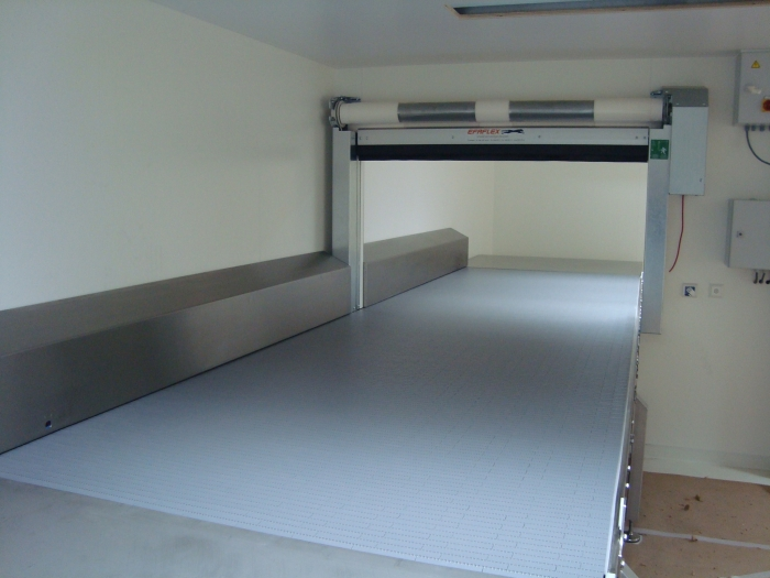 Transportband breed cleanroom